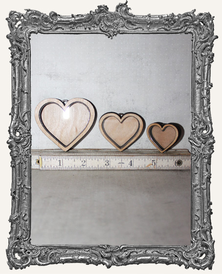 Shadow Box Shrine Kit - Heart
