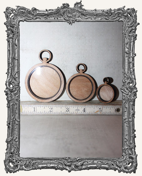 Shadow Box Shrine Kit - Pocket Watch