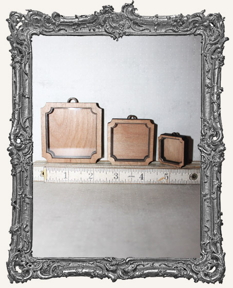 Shadow Box Shrine Kit - Square Scalloped Corners