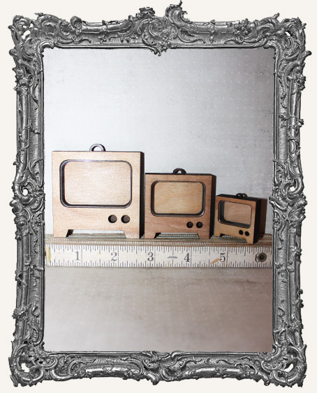 Shadow Box Shrine Kit - Retro Television