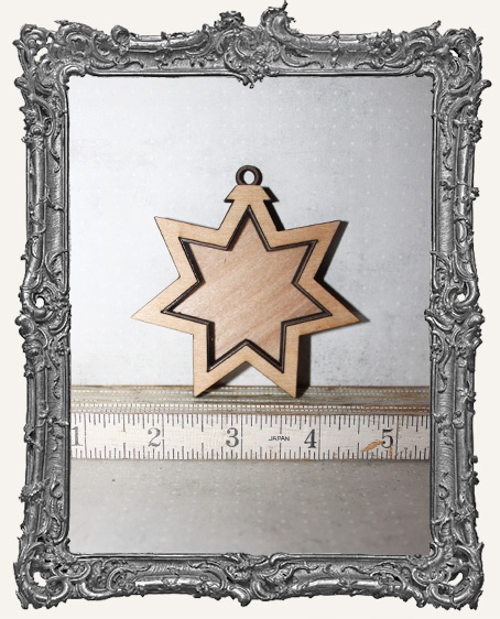 Shadow Box Shrine Kit - Star Ornament