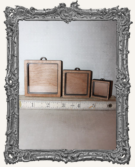 Shadow Box Shrine Kit - Square Rounded Corners