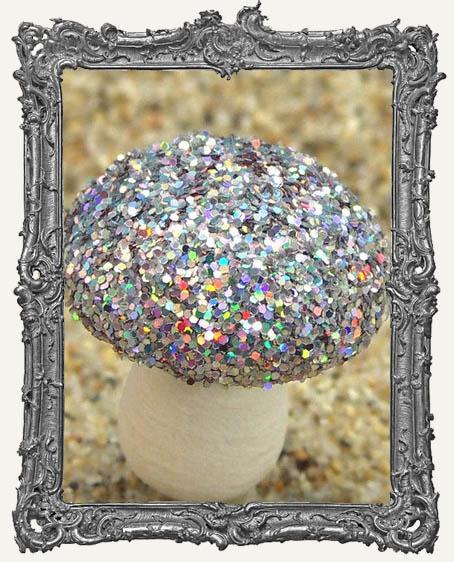 Silver Iridescent FLITTER