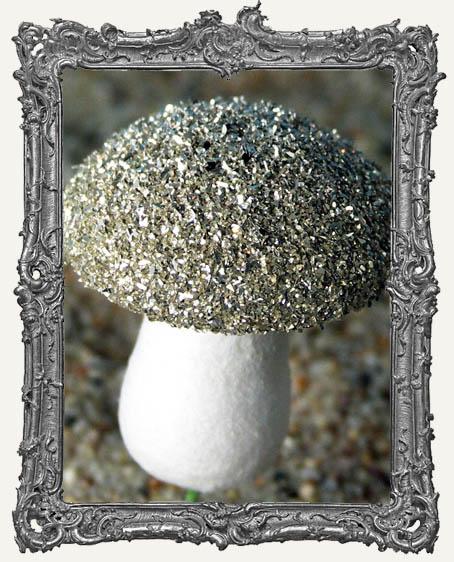 Silver German Glass Glitter 1 oz.