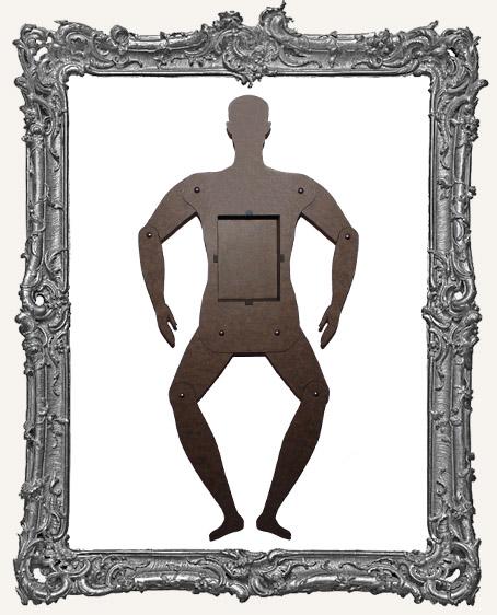 Basic Articulated Art Doll Shrine Kit - LARGE Male