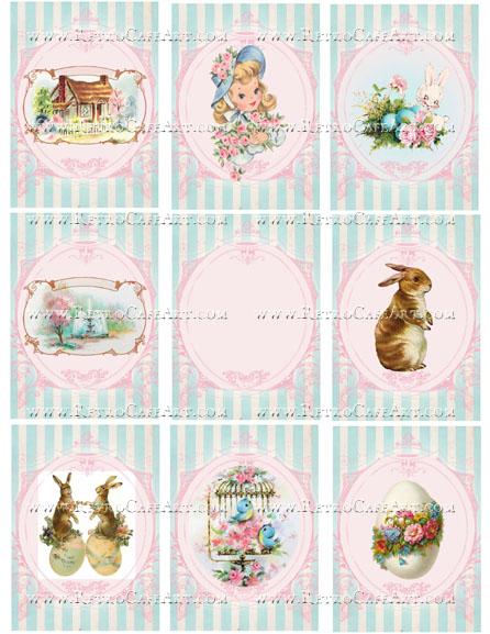 Spring Backgrounds Collage Sheet by Cassandra VanCuren - CV108
