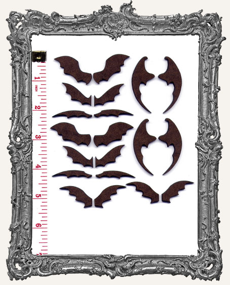 Extra Small Bat Wing Cut-Outs - ATC Size
