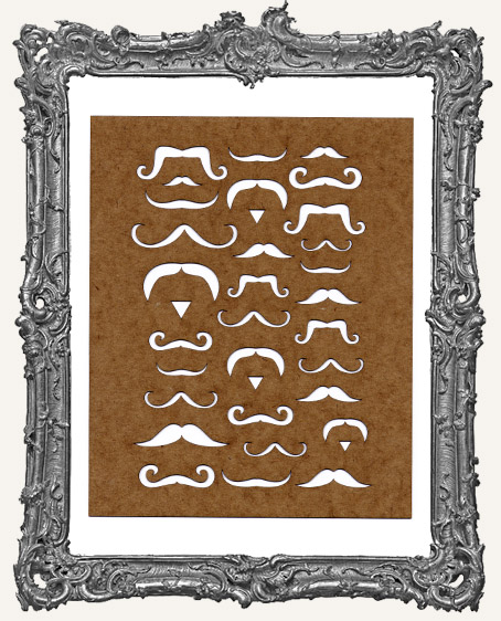 Mustache Background