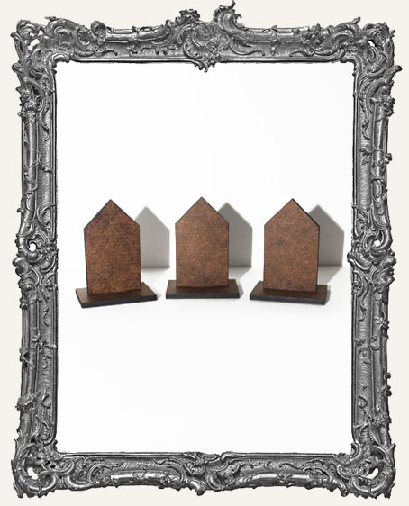 Stand Ups - Houses PACK OF 3 - Great for Inchie Displays