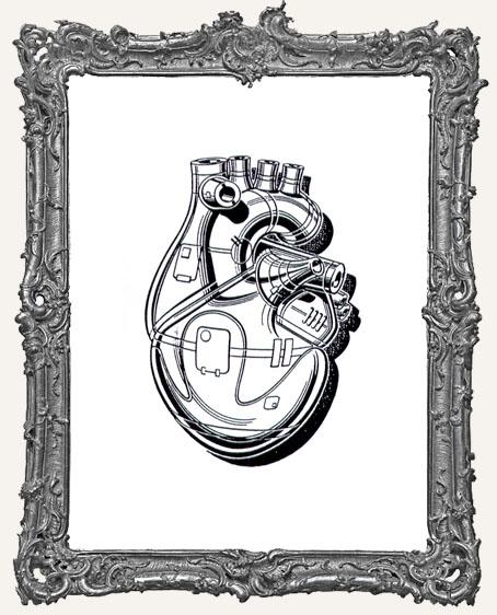Coffee Break Design - Steampunk Heart Stamp