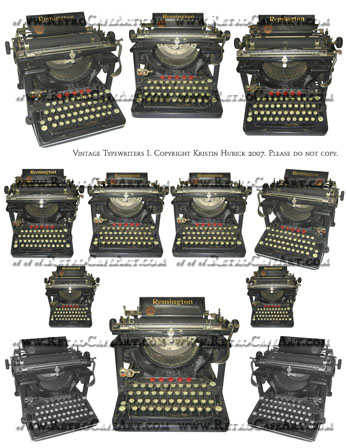 Vintage Typewriters 1