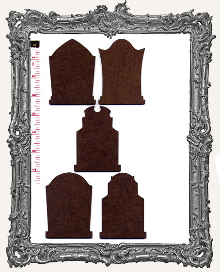 Gothic Tombstone ATC Bases I - Set of 5