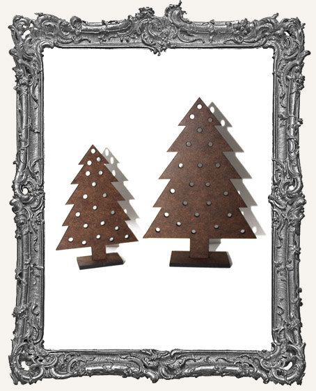 Stand Ups - TRADITIONAL Pine Tree WITH HOLES