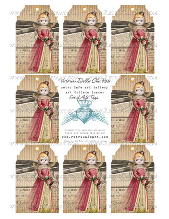 Victorian Dollie Chic Rose