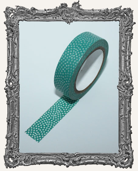 Washi Tape - Aqua Fun Dots