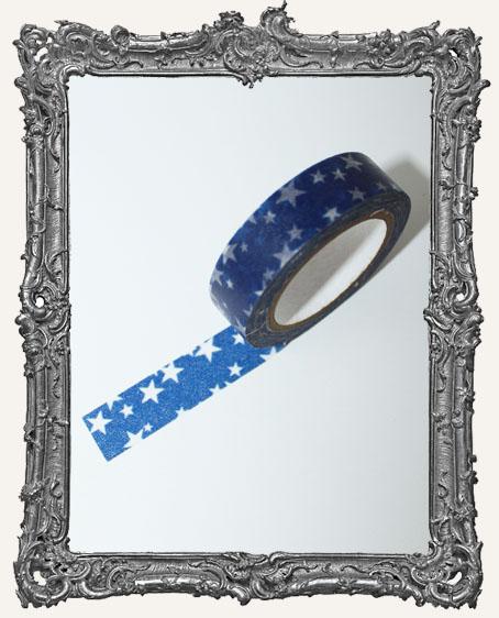 Washi Tape - Blue Stars