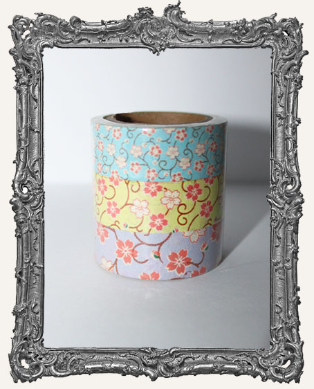 Washi Tape - Cherry Blossom SET OF 3