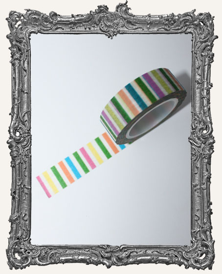 Washi Tape - Colored Stripes