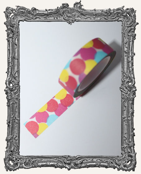 Washi Tape - Large Colored Bubbles