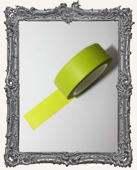 Washi Tape - Solid Green Apple