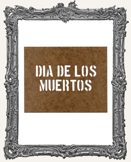 Dia de los Muertos Stencil
