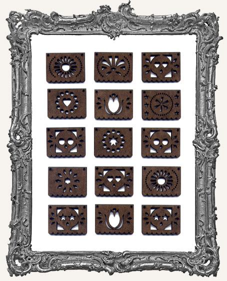 Papel Picado Cut-Outs - 15 Pieces