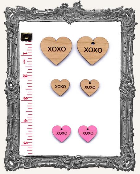 XOXO Heart Charms