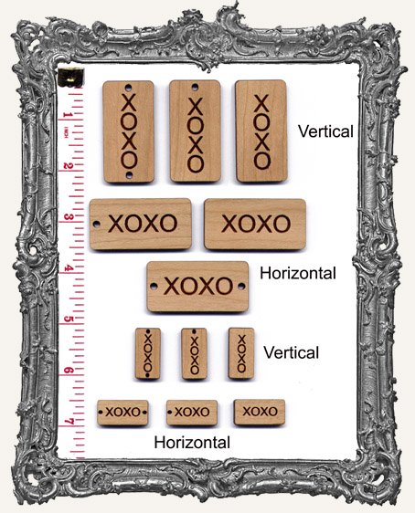 XOXO Dominos - Regular or Mini