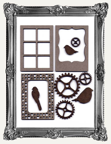 ATC FRAMES, WINDOWS, & SMALL CUT-OUTS - COFFEE BREAK DESIGN