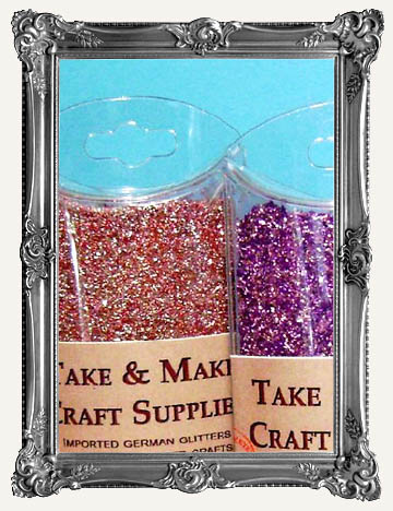 GERMAN GLASS GLITTER, STICKLES, & MORE SPARKLE
