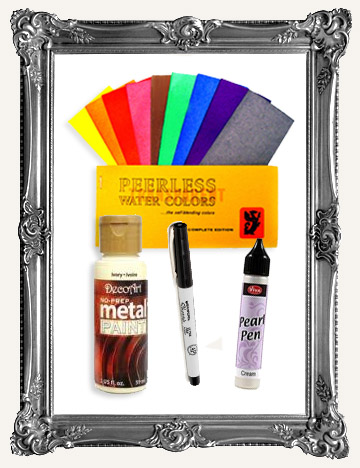 PAINTS, WATERCOLORS, INKS, MARKERS & MORE MEDIUMS