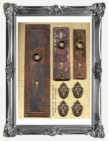 DOORS and ESCUTCHEON PLATES