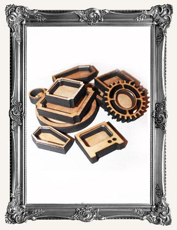 SHADOW BOX SHRINE KITS - COFFEE BREAK DESIGN